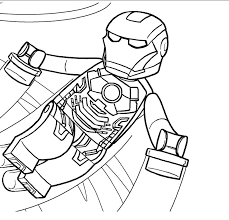 Lego Marvel Avengers Marvelous Coloring Pages