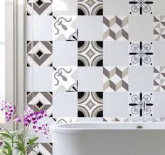 wandtattoo badezimmer verschiedene designs tenstickers