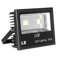 100w led floodlights outdoor security lights le
