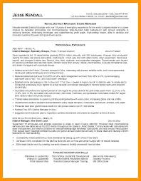 Retail Manager Resume 6 Managers Resumes Quit Job Letter Assistant Duties Cv Examples Uk