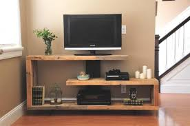 Interesting TV Console Rustic Style Furniture Ideas With Wall Decor