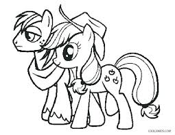 Free My Little Pony Coloring Pages Imposing Pictures Printable