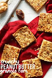 Peanut Butter Granola Bars | Minimalist Baker Recipes Best 25 Granola Bars Ideas On Pinterest Homemade Granola 35 Healthy Bar Recipes How To Make Bars 20 You Need Survive Your Day Clean The Healthiest According Nutrition Experts Time Kind Grains Peanut Butter Dark Chocolate 12 Oz Chewy Protein Strawberry Bana Amys Baking Recipe