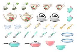 ustensiles de cuisines gommettes ustensiles de cuisine 1 planche le de carole