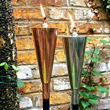 Citronella Oil Lamps Uk by Copper Olympic Oil Torch By London Garden Trading
