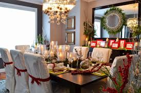 christmas dinner table room decoration ideas dinner table