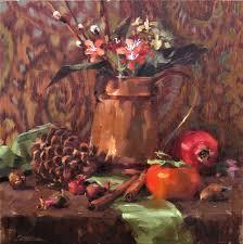 Pumpkin Patch In Yucaipa by Karen Werner Still Life In Copper Karen Werner Pinterest