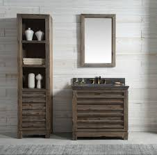 Distressed Bathroom Vanity Gray by 36 Inch Distressed Wood Bathroom Vanity Moon Stone Countertop