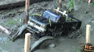 Tough Truck Mud Bog Challenge Battle By Remote Control 4X4 At RC ...
