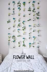 einzigartige und kreative diy blumenwand diy flower wall
