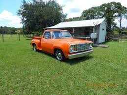 100 All Florida Truck Sales 1978 Dodge D100 Pickup Steel Slant Six For Sale