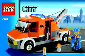 100 Lego City Tow Truck LEGO Instructions 7638