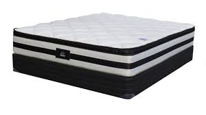 Emma Super King 76″ x 90″ Mattress and Box Spring Set includes