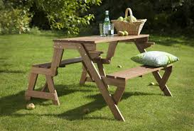 elegant bench picnic table combo 35 for small home remodel ideas