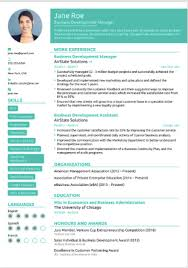 In Fact They Offer 5 Free Resume Templates For Those The Junior Category Which Describe As Student Or Graduate And 6 Single Page