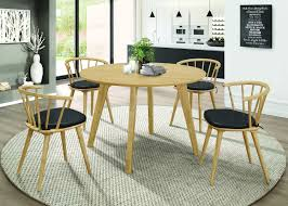 Homy Living Merced Natural Wood Finish 5 Piece Round Dining Table Set Cm3556 Round Top Solid Wood With Mirror Ding Table Set Espresso Homy Living Merced Natural Wood Finish 5 Piece East West Fniture Antique Pedestal Plainville Microfiber Seat Chairs Charrell Homey Design Hd8089 5pc Brnan Single Barzini And Black Leatherette Chair Coaster 105061 Circular Room At Hotel Hershey Herbaugesacorg Brera Round Ding Table Nottingham Rustic Solid Paula Deen Home W 4 Splat Back Modern And Cozy Elegant Sets