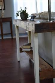 Narrow Sofa Table Australia by Remodel The Furniture With Diy Sofa Table
