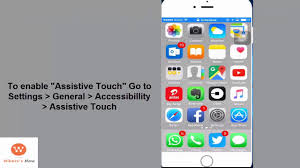 How to use Assistive Touch iPhone Custom Gestures iPhone 6s 6