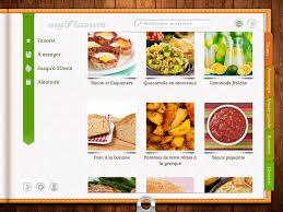 logiciel recette cuisine myflavors livre de cuisine dans l app store