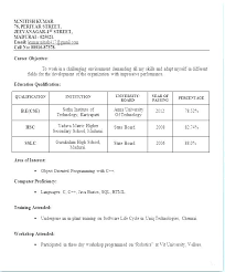 Teacher Job Resume Format Download Dental Sample Resumes For Freshers