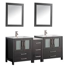 MTD Vanities MTD 1060 Argentina 60 Double Sink Bathroom Vanity Set