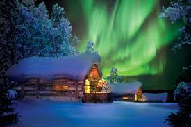 See the Northern Lights from a glass igloo at Kakslauttanen in Finland