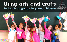 Using Arts And Crafts To Teach Language Young Children