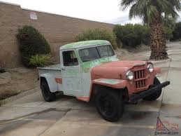 1953 Willys Overland Pickup Truck Original Owner 56K Street Rod ... Willys Pickup Photo And Video Review Comments Ted Tuerk Kaiser Jeep Blog Find Of The Week 1951 Truck Autotraderca 1962 1950 Jeepster Submitted By Staff 1959 In Mmaris Turkey Wagon Dave_7 Flickr 1947 Stock 1947willystruck For Sale Near New Pickup Ls Swap Fast Specialties Performance Auto Restoration Walk Around Youtube Overland Crossley Wikipedia Hemmings Day 473 4wd Picku Daily File1947 1231061525jpg Wikimedia Commons