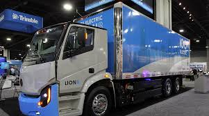 100 Production Truck Lion Sets Class 8 Electric For Fall Transport Topics