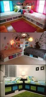 How To Build Twin Corner Beds With Storage Boy Bedroom DesignsGirls DecoratingBed DesignsRoom Decorating IdeasHome