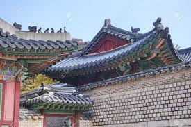 104 South Korean Architecture Traditional Roof Detail Of Palace In Seoul These Places Are Major Tourist Attraction Of Korea Stock Photo Picture And Royalty Free Image Image 59011270
