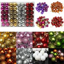 Christmas Tree Types by Multi Types Christmas Balls Baubles Xmas Tree Hanging Ornament