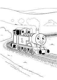 Thomas The Tank Engine Coloring Pages Games Online Steam Train Sheets Book