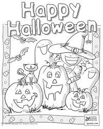 Best Halloween Coloring Worksheets Fun For Christmas
