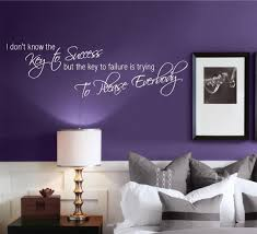 Ebay Wall Decoration Stickers by Key To Success Office Motivation Wall Art Quote Phrase Sticker
