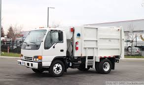 2004 Isuzu Pak-Rat Satellite Garbage Truck For Sale - YouTube