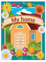My home Theme and activities Educatall