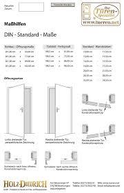 maßhilfen din standard maße türen zimmertüren hastüren