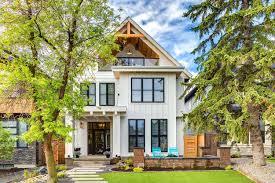 100 Modern Homes Pics Calgary Home Radiates With Fresh Modern Farmhouse Style