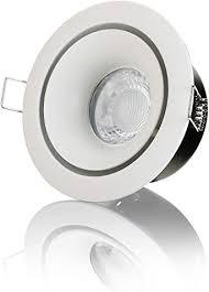 lambado led spots für badezimmer ip65 in weiss moderne deckenstrahler einbaustrahler für außen inkl 230v 5w gu10 strahler warmweiß hell