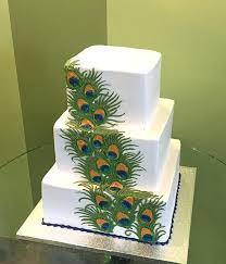 feather wedding cakes – dragon