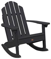 classic westport adirondack rocking chair contemporary outdoor