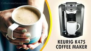 Keurig K475 Coffee Maker Review Black Sandy Pearl