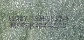 M939 5-Ton Truck Floor Mat M934A2 12356832-1 2540-01-318-2814