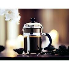 Bodum 4 Cup French Press 8 Coffee Maker Chrome Oz
