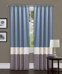 Brylane Home Lighted Curtains by Amalgamated Textiles Exclusive Home Light Filtering Curtain Panels