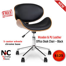 Wooden & PU Leather Office Desk Chair - Black - Nice N Cheap Variety ... Carbon Loft Ewart Grey Cast Iron Tractor Seat Stool 773d Lrs Innovates With Driving Simulator Air Force Safety Center Falk Kubota Pedal Backhoe Excavator Ultimate Racing Gaming Simulator Frame By Milltek Innovation For Bucket Triple Screen Ps4 Xbox Ps3 Pc Chair Virtual Reality Home Of Racing Simulator Flight Simulators Hyperdrive 4wheel Steering Lawn X739 Signature Series John Deere Ca Saitek Farm Controller Axion 960920 Tractors Claas Inside New Holland Boomer 47 Cab Tractor Farmmy Logitech Farming Heavy Equipment Bundle For Complete Universal Products 30100054 Play Ets2 Using Wheel