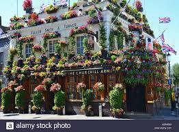 100 Kensington Church London The Ill Arms Pub Street England