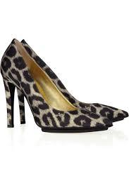 sofft women u0027s mina pumps in natural leopard black horse hair