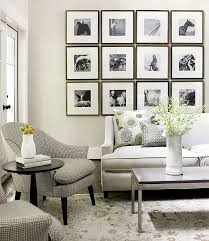 Living Room Wall Art Ideas Pictures Of Decorated Home Design Neutral White And Frames Collection